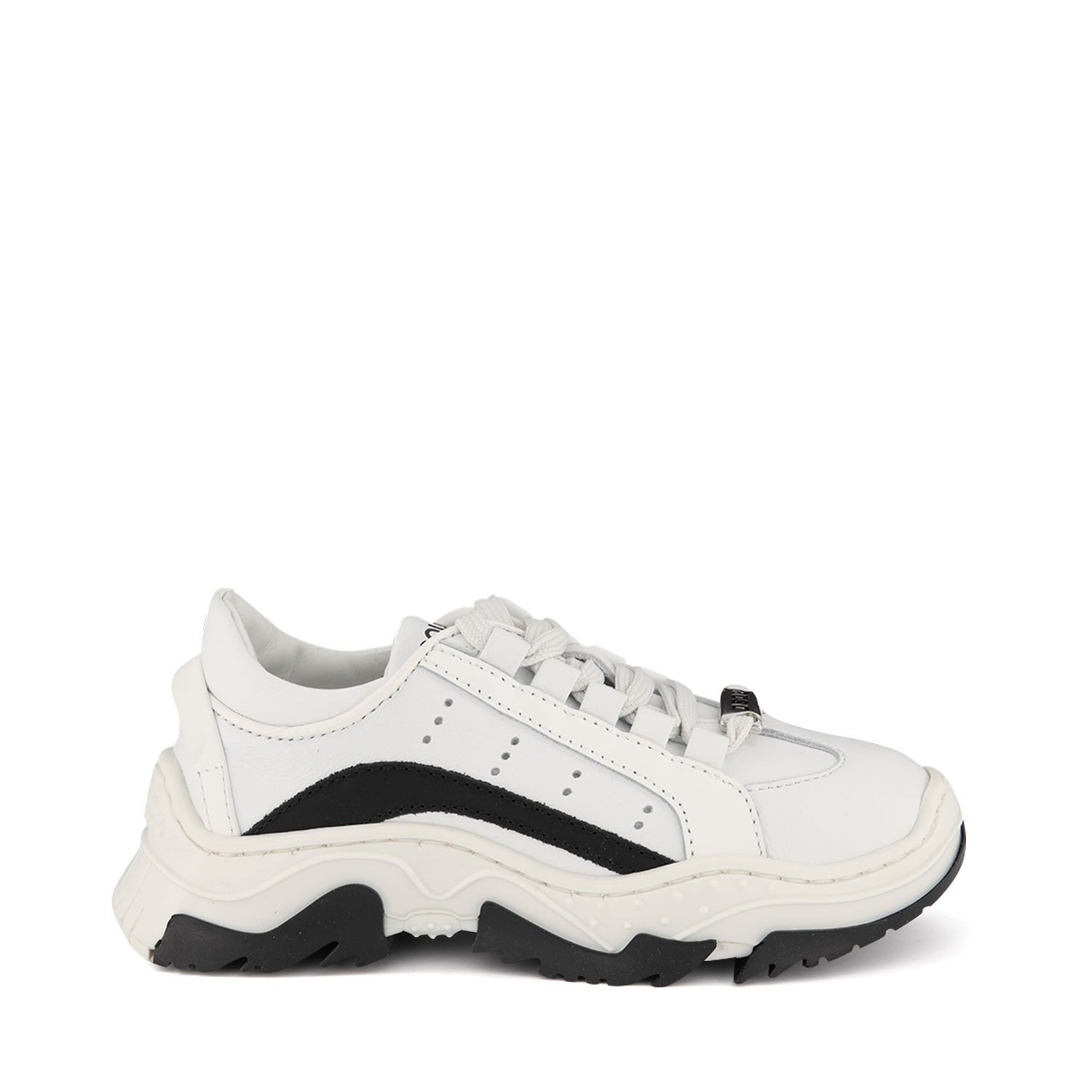 Picture of Dsquared2 63536 kids sneakers white