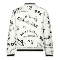 Picture of Dolce & Gabbana L1JW3Q/HS7D6 kids sweater off white