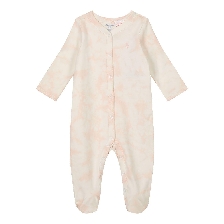 Picture of Ralph Lauren 310798913 baby playsuit light pink