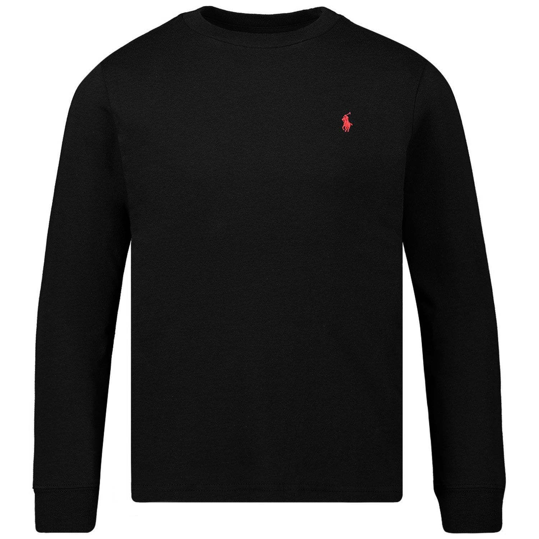 Afbeelding van Ralph Lauren 708456 kinder t-shirt zwart