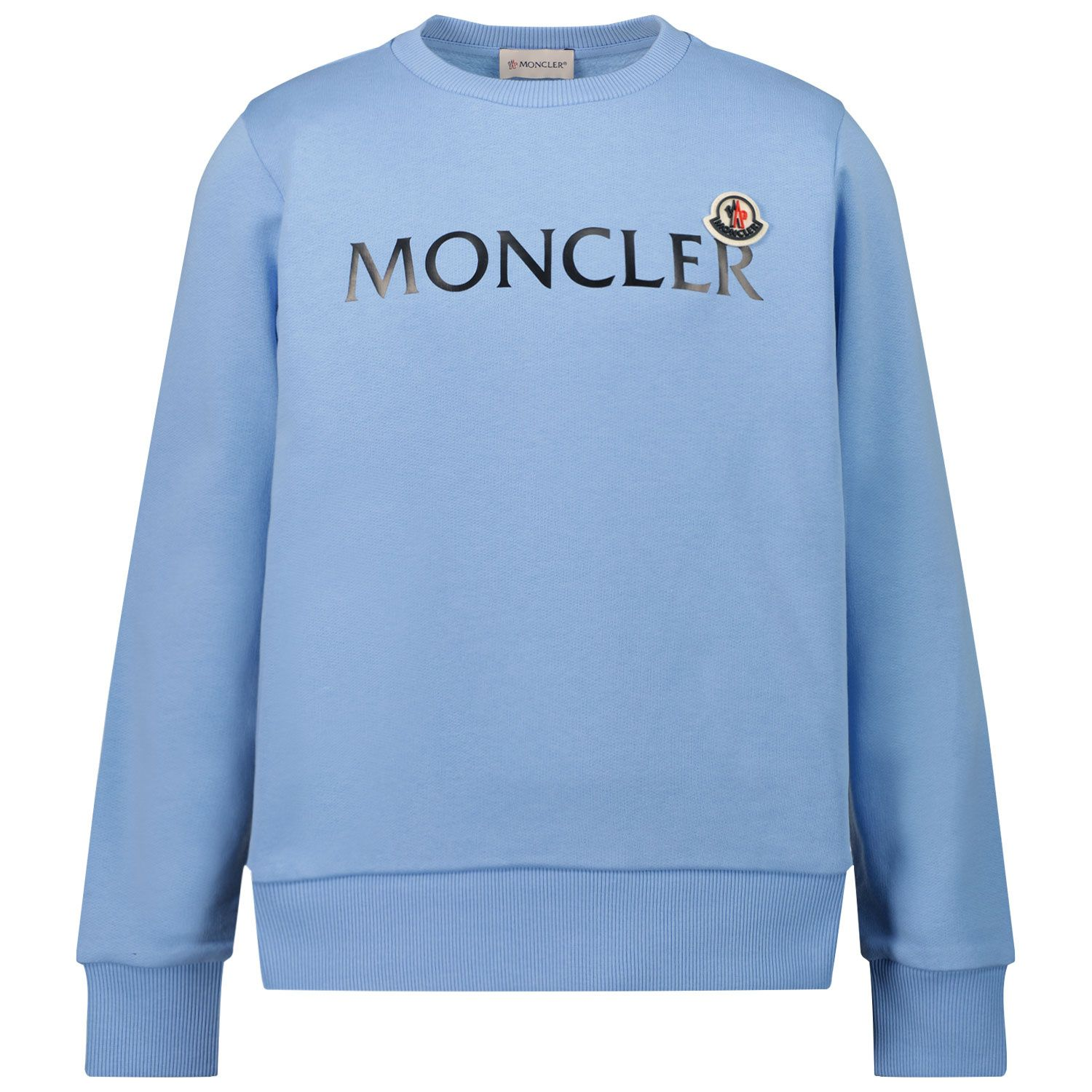 Picture of Moncler 8G79700 kids sweater light blue