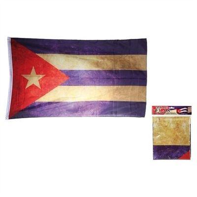 Foto van Cubaanse vlag 150 x 90 cm