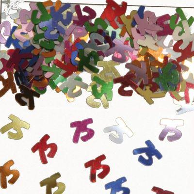 Foto van Tafel Confetti 75 jaar