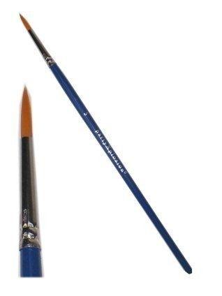 Schmink penseel spits mt. Ø 2 mm (3)