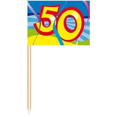 Prikkers 50 Jaar Swirls/50 st.