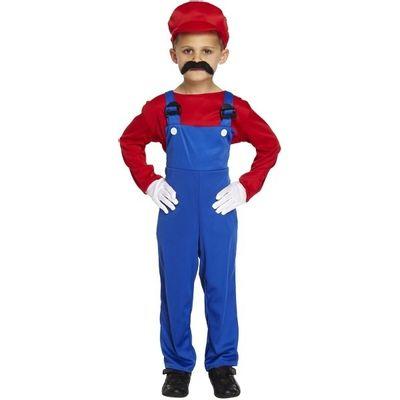 Foto van Mario kostuum kind