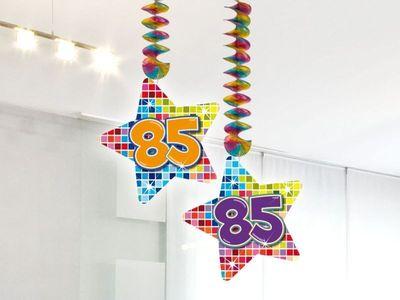 Hangdecoratie Birthday Blocks 85 jaar
