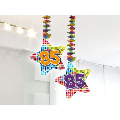 Foto van Hangdecoratie Birthday Blocks 85 jaar