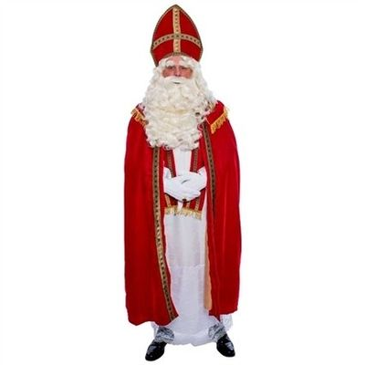 Sinterklaas kostuum polyesterfluweel