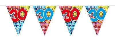 Mini Vlaggenlijn Bday Blocks 30 jaar