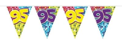 Mini Vlaggenlijn Bday Blocks 95 jaar