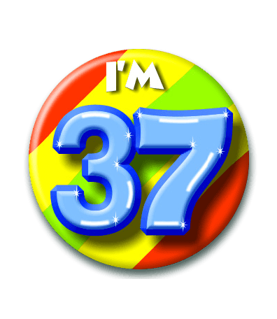 Button 37 jaar