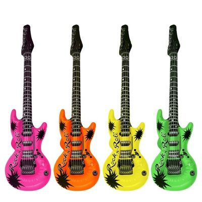 Foto van Opblaas gitaar