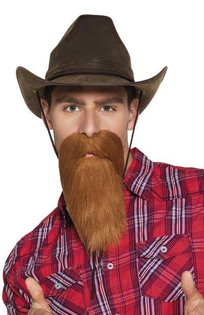 snor en baard Cowboy