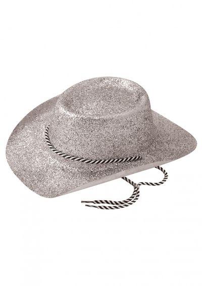 Zilveren Cowboy Hoed