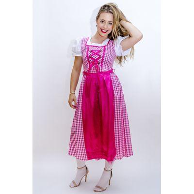 Foto van Oktoberfest jurk lang - Lena
