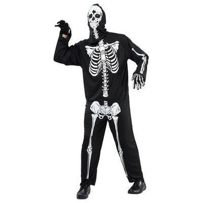 Foto van Skelet kostuum