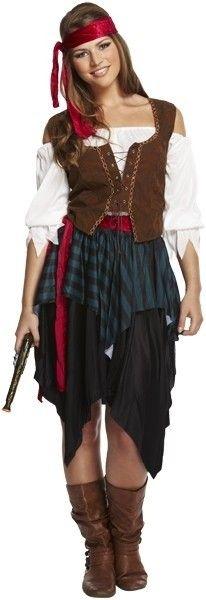 Piraten jurk dames