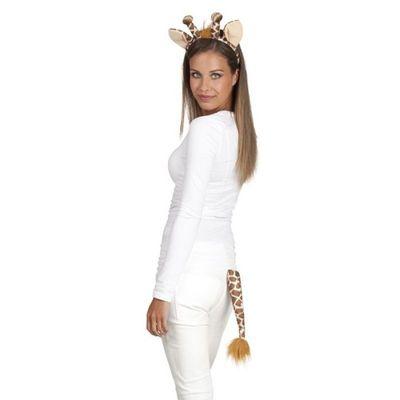 Set Giraffe (tiara en staart)