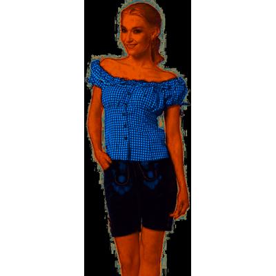 Dames lederhose kort Charlotte