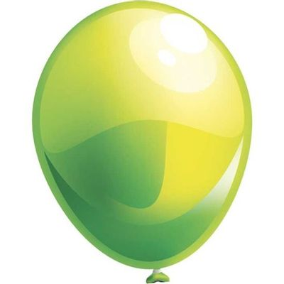 Topballon parel appelgroen (91cm)