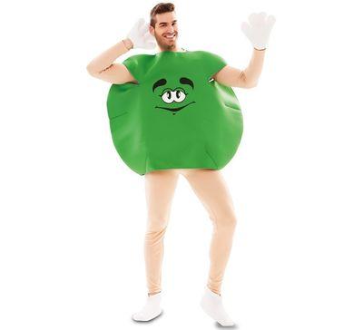 Groen M&M kostuum