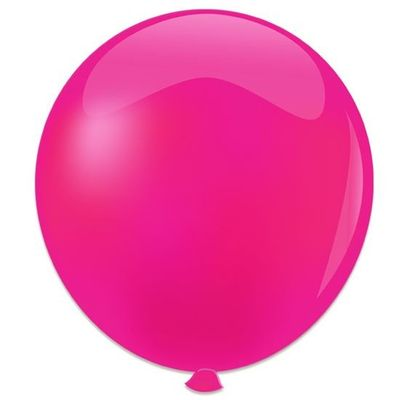 Topballon fuchsia (91cm) 6st