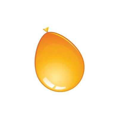 Foto van Ballonnen oranje 10st (30cm)
