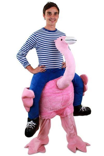 Carry me kostuum Flamingo luxe
