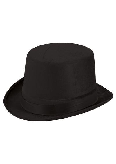 Hoge hoed fluweel laag