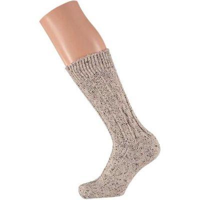 Tiroler sokken beige