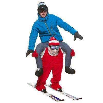 Foto van Carry me ski mannetje