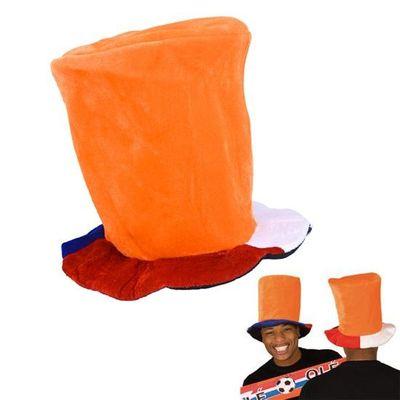 Foto van Hoge hoed oranje