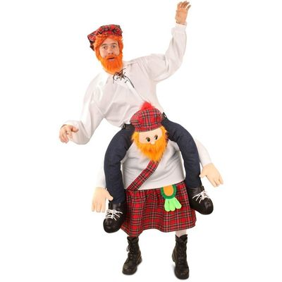 Foto van Carry me kostuum Schotse man luxe