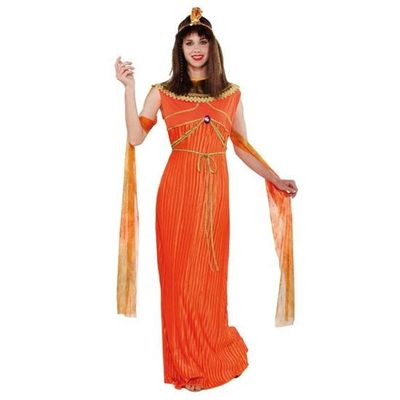 Cleopatra kostuum - Oranje