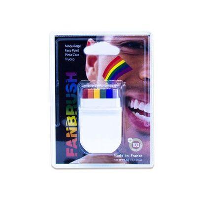 Schmink stift regenboog
