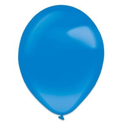 Ballonnen royal blue crystal (35cm) 50st