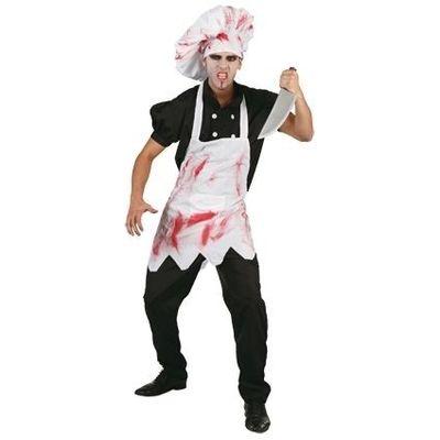 Halloween chefkok kostuum