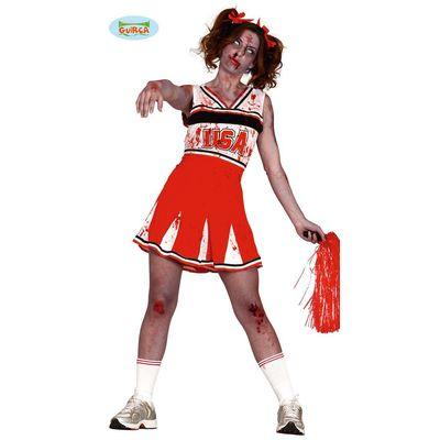 Foto van Zombie cheerleader kostuum