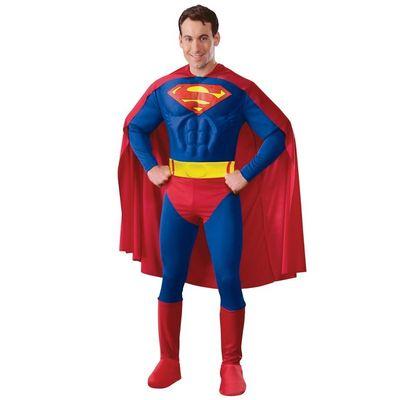 Foto van Superman kostuum - Luxe Licentie pak