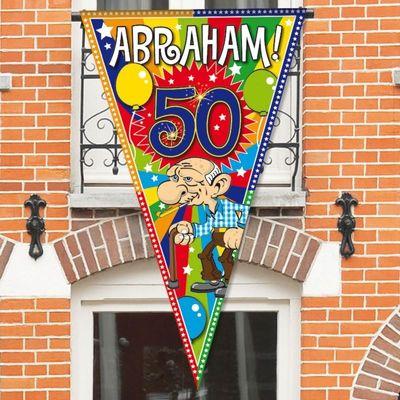Mega vlag 90x150 Abraham Explosio