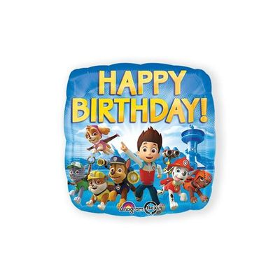 Foto van Folieballon Paw Patrol Happy Birthday
