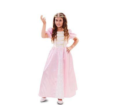 Roze prinsessenjurk kind