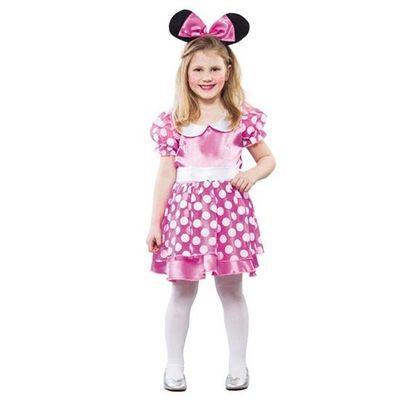 Minnie Mouse jurkje roze