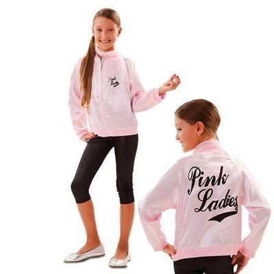 Foto van Pink lady kostuum kind
