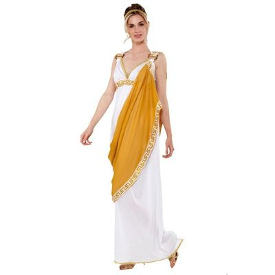 Foto van Romeinse dames kostuum