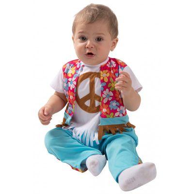 Foto van Hippie kostuum baby