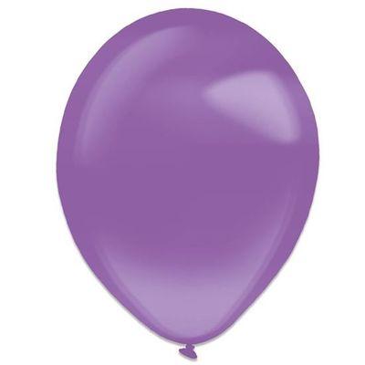 Ballonnen purple crystal (28cm) 50st