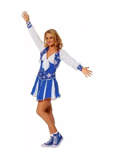 Koorddanseres jurk - blauw