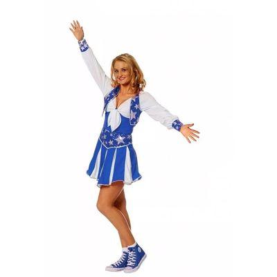 Foto van Koorddanseres jurk - blauw